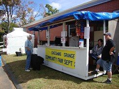OUR FOOD BOOTH